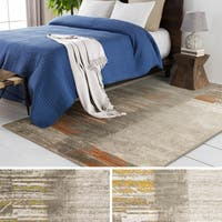 Clay Alder Home Lions Faded Grey Area Rug (5'2 x 7'6)
