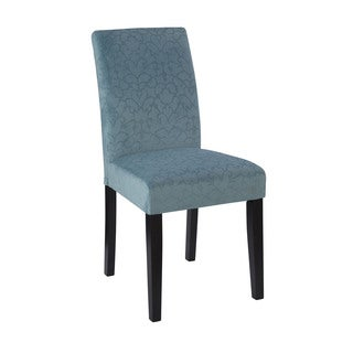 Linon Laura Parsons Chairs - Blue (Set of 2)