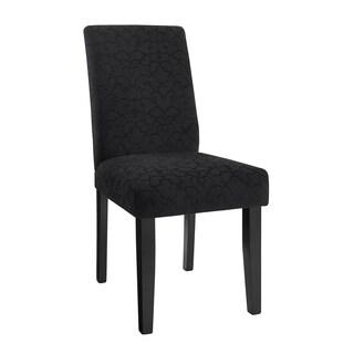 Linon Laura Parsons Chairs - Black (Set of 2)