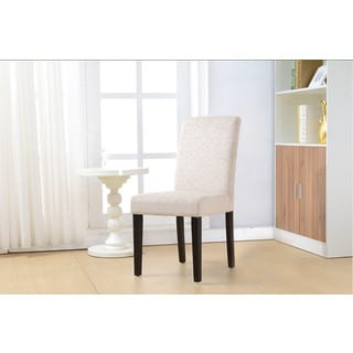 Linon Laura Parsons Chairs - Beige (Set of 2)