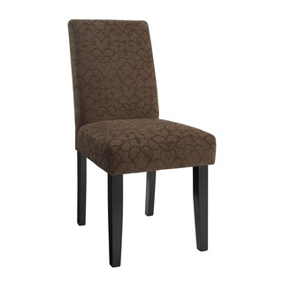 Linon Laura Parsons Chairs - Brown (Set of 2)