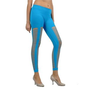 Soho Junior Laser Cut Full-Length Leggings