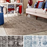 Gracewood Hollow Julian Floral Oriental Area Rug - 7'8 x 10'6