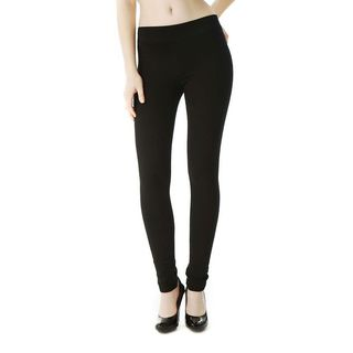 Soho Black Junior French Terry Skinny Jegging Pants