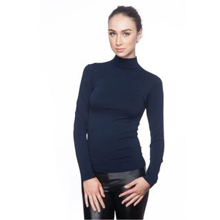 Soho Junior Long Sleeve Fleece Turtle Neck Top