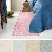 Hand-Woven Ethan Wool/Cotton Area Rug