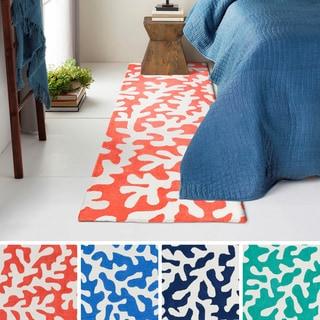 Hand-Tufted Luxor Poly Acrylic Rug (2'6 x 8')