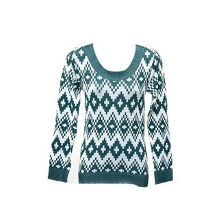 Soho Junior Long Sleeve Pattern Top