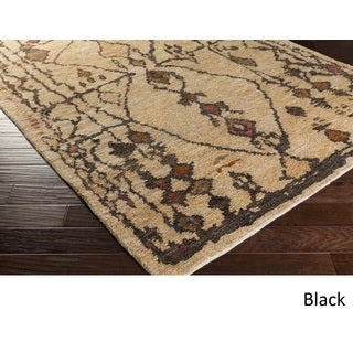Hand-Knotted Edith Jute Rug (6' x 9')