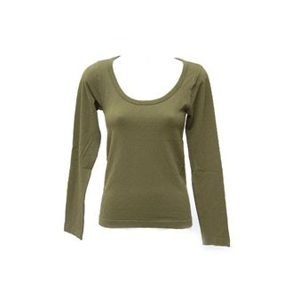 Soho Junior Long Sleeve Texture Top