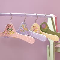 Fantasy Fields Magic Garden Clothes Hangers (Set of 4)