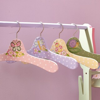 Fantasy Fields Magic Garden Clothes Hangers (Set of 4)