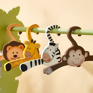 Teamson Fantasy Fields Sunny Safari Hangers (Set of 4)