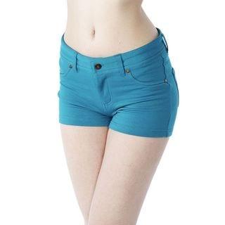 Cute Options Women's Plaid Patchwork Bermuda Shorts ...