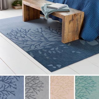 Hand-Tufted Mable Poly Acrylic Rug (5' x 7'6)