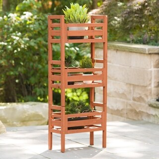 Wooden Stacking Planter