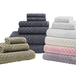 Enchante Glossy 6-piece Turkish Towel Set