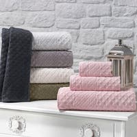Maison Rouge Luca Glossy 3-piece Turkish Towel Set