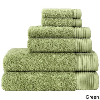 Enchante Flossy 6-piece Turkish Towel Set