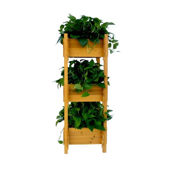 Shop 3 Tier Planter Box Free Shipping Today Overstock Com 10988865
