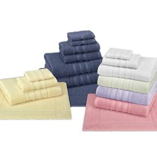 Enchante Allure 3-piece Turkish Towel Set with Bath Rug