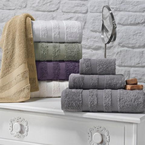Enchante Symptom 3-piece Supima Towel Set