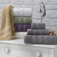 Enchante Symptom 3-piece Supima Towel Set