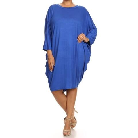 Buy Blue Women\'s Plus-Size Dresses Online at Overstock | Our ...