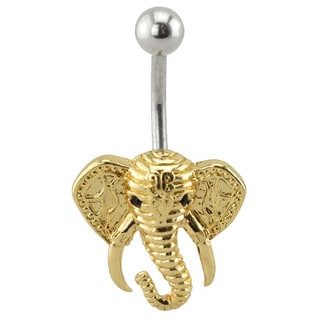 Supreme Jewelry Gold Elephant Belly Ring