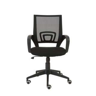 Machiko Black/ Black Nylon Office Chair