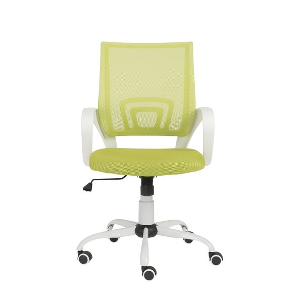 machiko green white office chair free shipping today