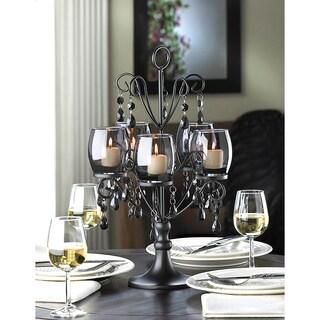 Romantic Elegant Glowing Candelabra