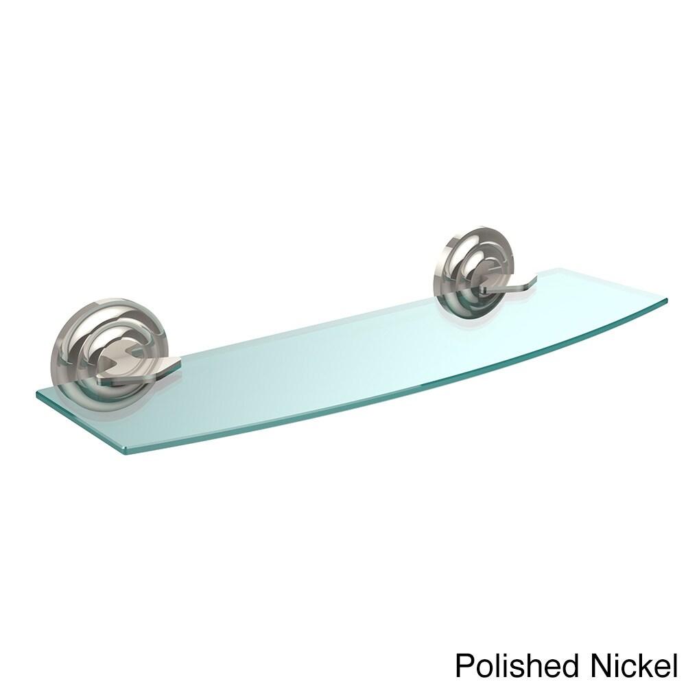 Allied Brass Que New Collection 18-inch Glass Shelf | eBay
