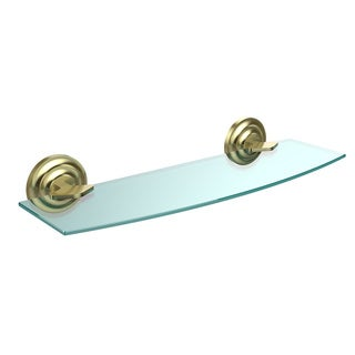 Allied Brass Que New Collection 18-inch Glass Shelf