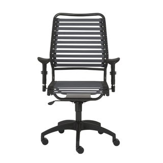 Baba RTA Dark Grey/ Graphite Flat High Back Office Chair