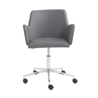 Grey/ Chrome Sunny Office Chair