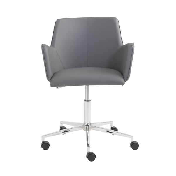 Grey Chrome Sunny fice Chair Free Shipping Today