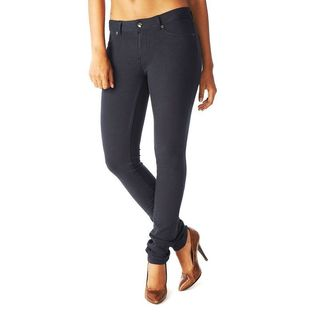 Soho Junior's Navy One Size French Terry Skinny Jegging Pants
