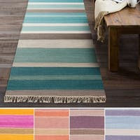 Havenside Home Mamaroneck Hand-Woven Wool/ Cotton Area Rug - 2'6 x 8'