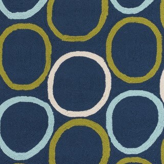Hand-Hooked Lizze Rug (8' x 10')