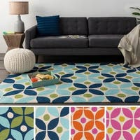 Hand-Hooked Liverpool Area Rug - 8' x 10'