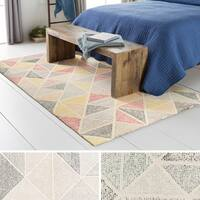 Hand-Tufted Linz Wool Area Rug