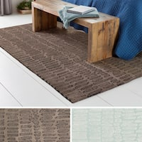 Hand-Tufted Fort Lauderdale Wool Area Rug - 8' x 10'