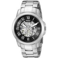 Fossil Men's  'Grant' Automatic Stainless Steel Watch