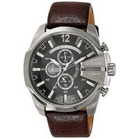 Diesel Men's DZ4290 'Chief' Chronograph Brown Leather Watch