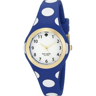 Kate Spade Women's 1YRU0839 'Rumsey' Blue Silicone Watch