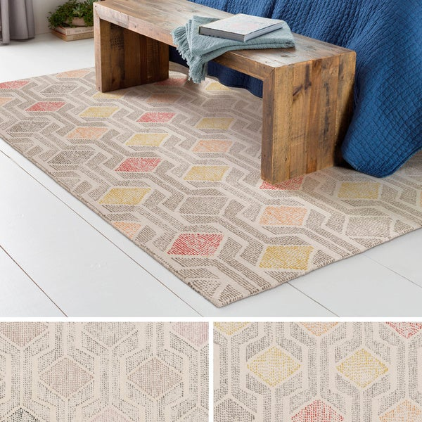 Hand-Tufted Fort Collins Wool Rug (4' x 6')