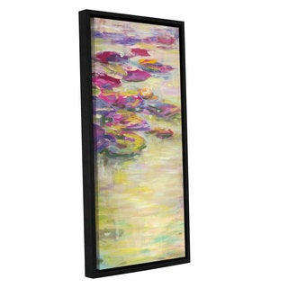 ArtWall JC Pino's Monet, Gallery Wrapped Floater-framed Canvas