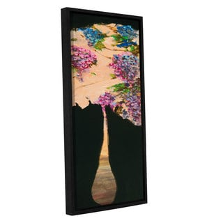 ArtWall JC Pino's Abstract Floral II, Gallery Wrapped Floater-framed Canvas