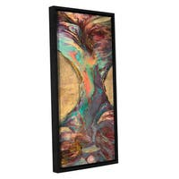 ArtWall JC Pino's Peacock Inspiration, Gallery Wrapped Floater-framed Canvas